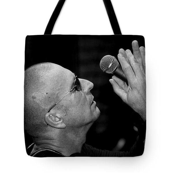 Cy Curnin The Fixx By Diana Sainz Tote Bag