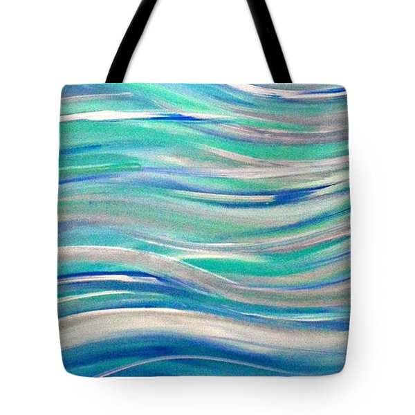 Tote Bag featuring the painting Cy Lantyca 1 by Cyryn Fyrcyd