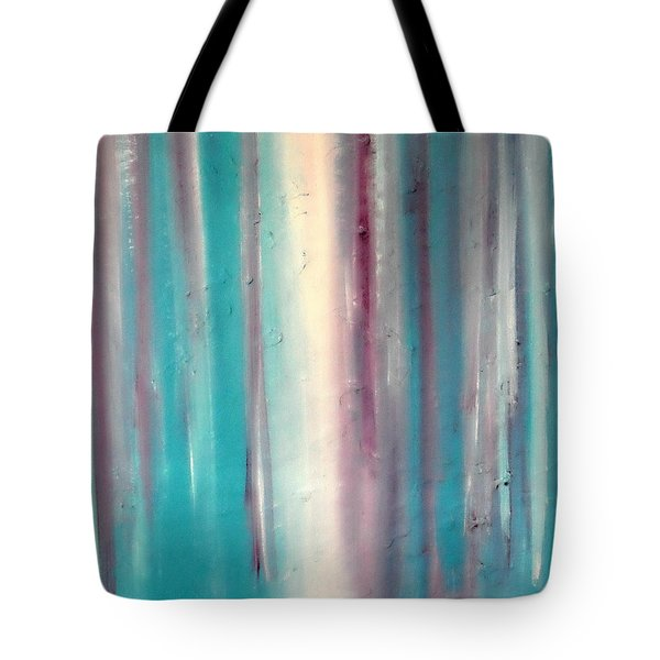 Tote Bag featuring the painting Cy Lantyca 10 by Cyryn Fyrcyd