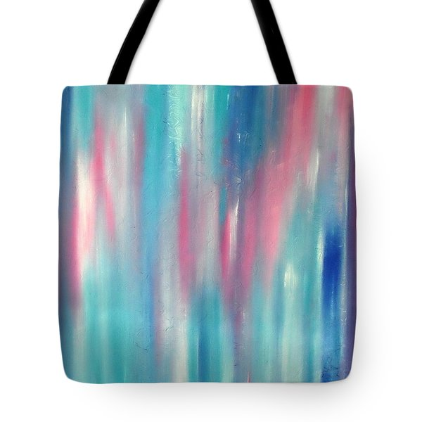 Tote Bag featuring the painting Cy Lantyca 7 by Cyryn Fyrcyd