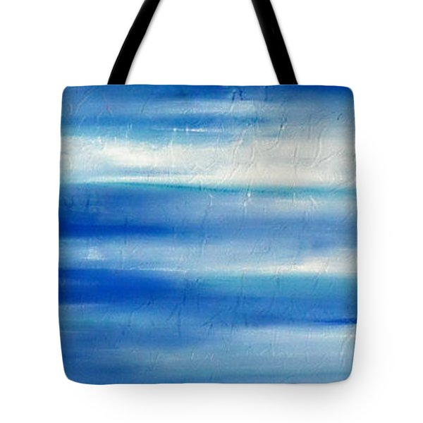 Tote Bag featuring the painting Cy Lantyca 8 by Cyryn Fyrcyd