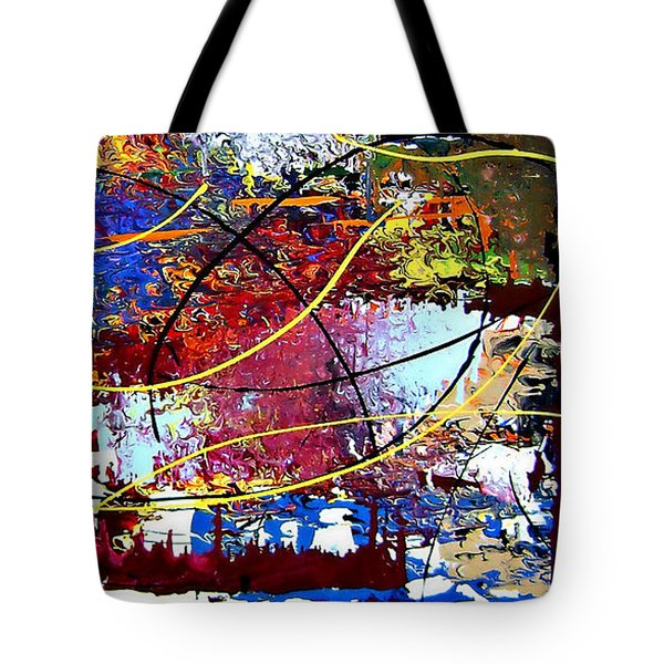 Cy Talyc Tote Bag