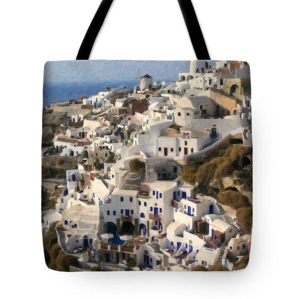 Cyclades Grk4309 Tote Bag