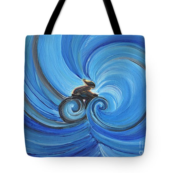 Cycle By Jrr Tote Bag by First Star Art