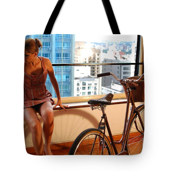 Cycle Introspection Tote Bag