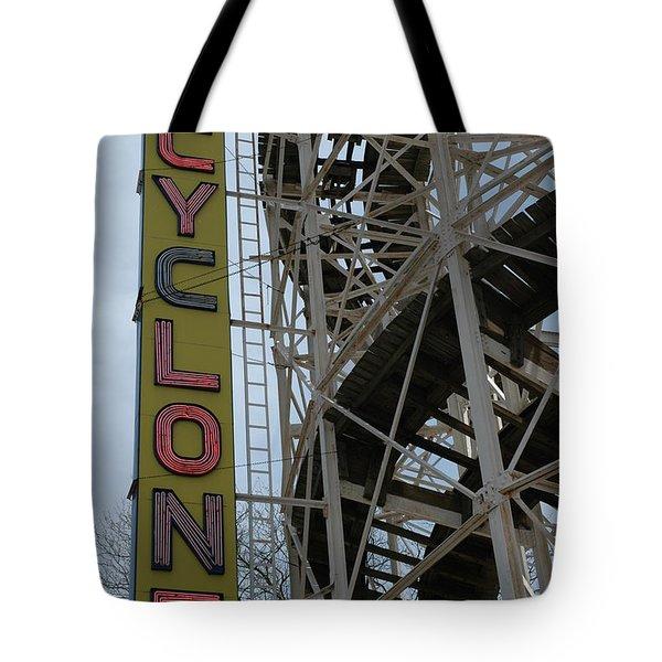 Cyclone - Roller Coaster Tote Bag
