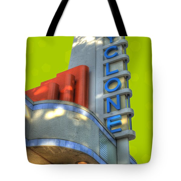 Cyclone Ticket Booth Tote Bag