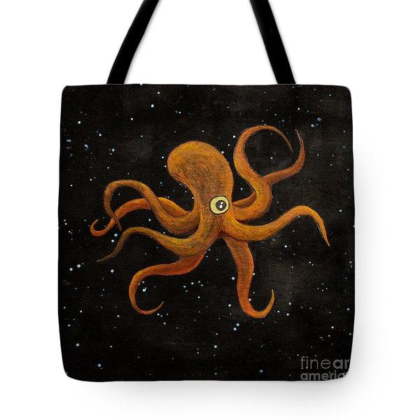 Cycloptopus Black Tote Bag