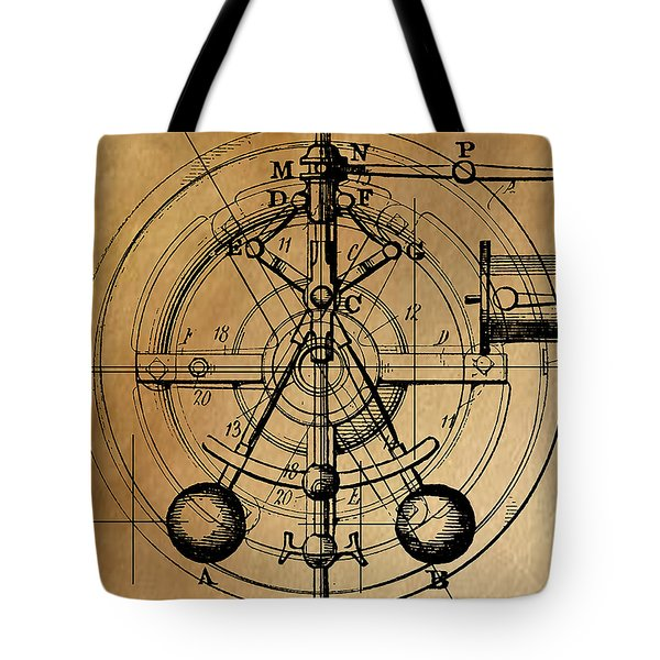 Cyclotron Tote Bag by James Christopher Hill