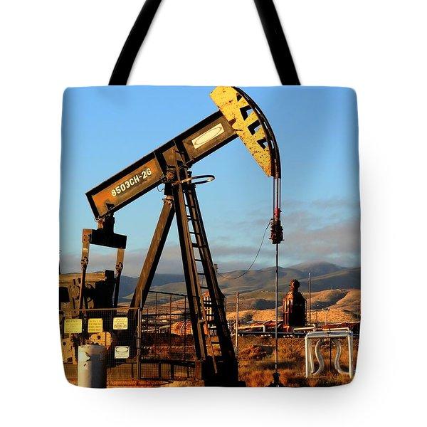 Cymric Field II Tote Bag by Lanita Williams