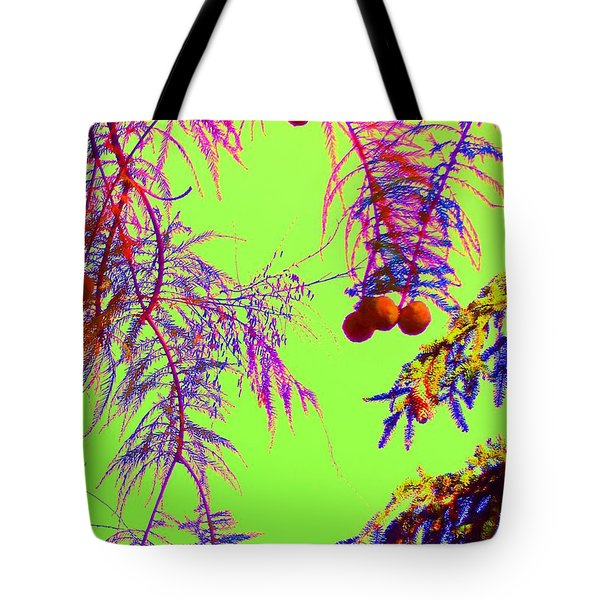 Cypress  Tote Bag by Ann Johndro-Collins