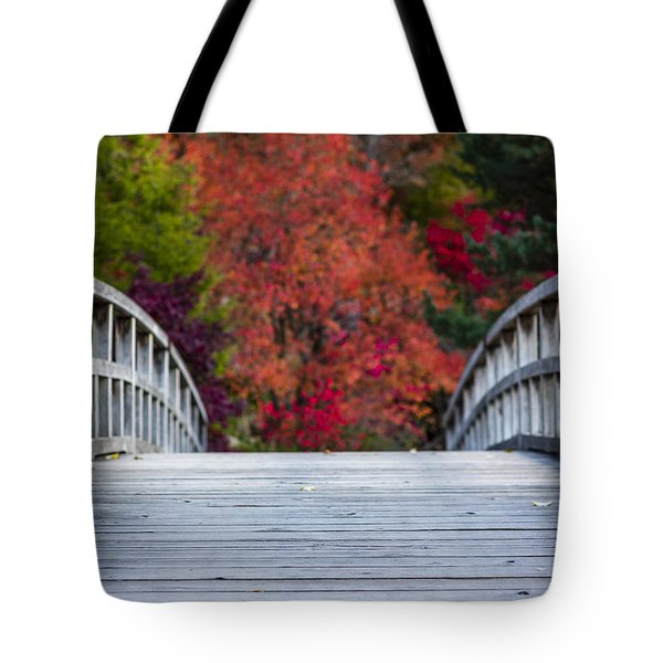 Tote Bag featuring the photograph Cypress Bridge by Sebastian Musial