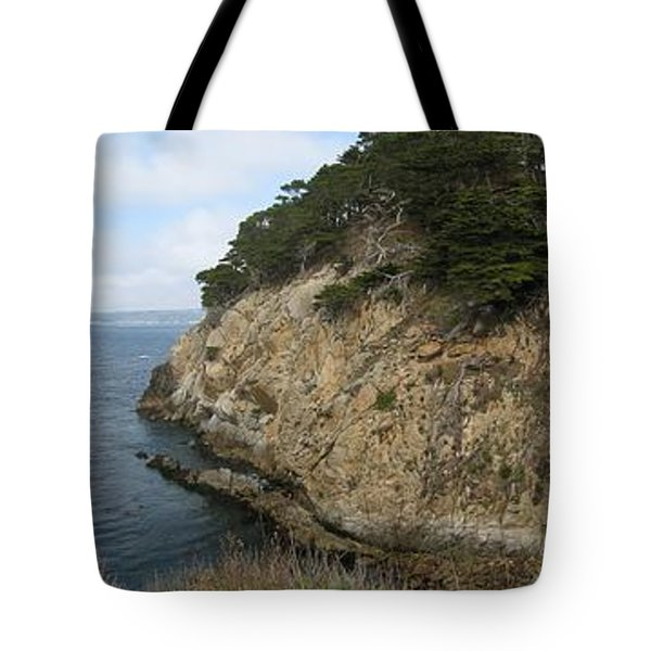 Tote Bag featuring the photograph Cypress Cove Panorama by James B Toy