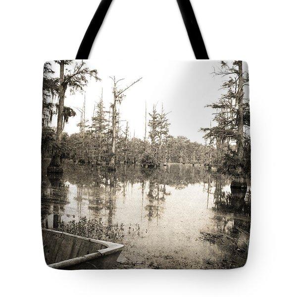 Cypress Swamp Tote Bag by Scott Pellegrin