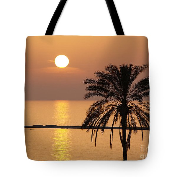 Cyprus Sunset Tote Bag by Alex Cassels