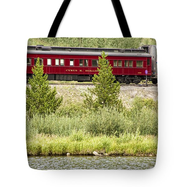 Cyrus K  Holliday Private Rail Car Tote Bag by James BO  Insogna