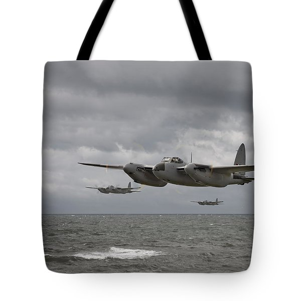 D H Mosquito Tote Bag by Pat Speirs