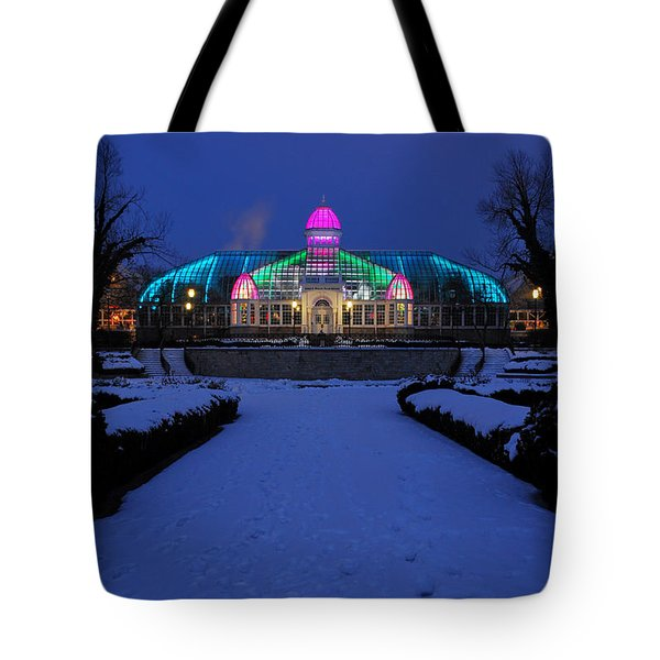 D5l287 Franklin Park Conservatory Photo Tote Bag