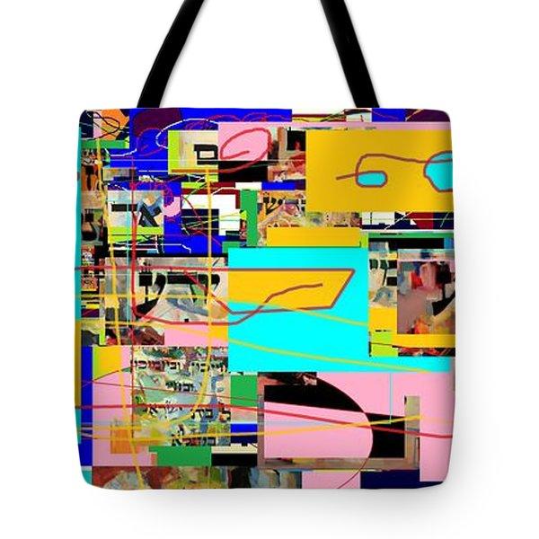 Daas 4 Tote Bag by David Baruch Wolk