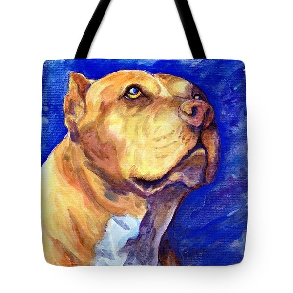 Tote Bag featuring the painting Daddy by Ashley Kujan
