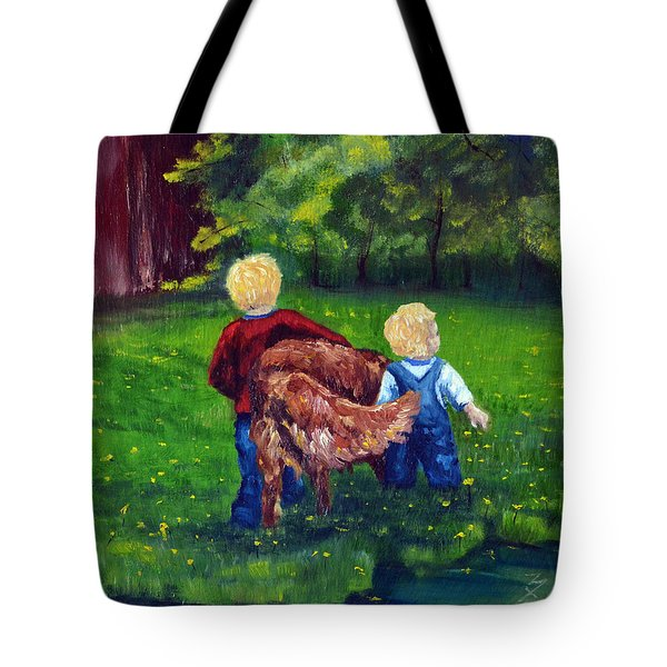 Daddy's Boys Tote Bag