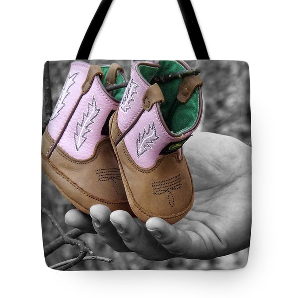 Daddy's Lil Country Girl Tote Bag