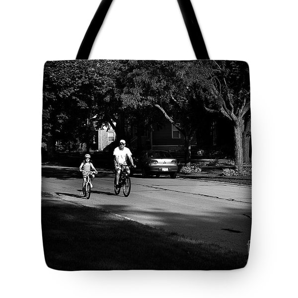 Daddy's Shadow Tote Bag