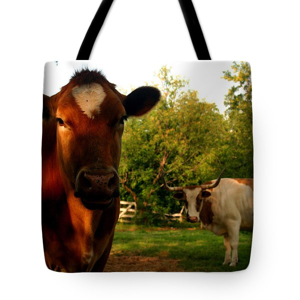 Dads Cows Tote Bag