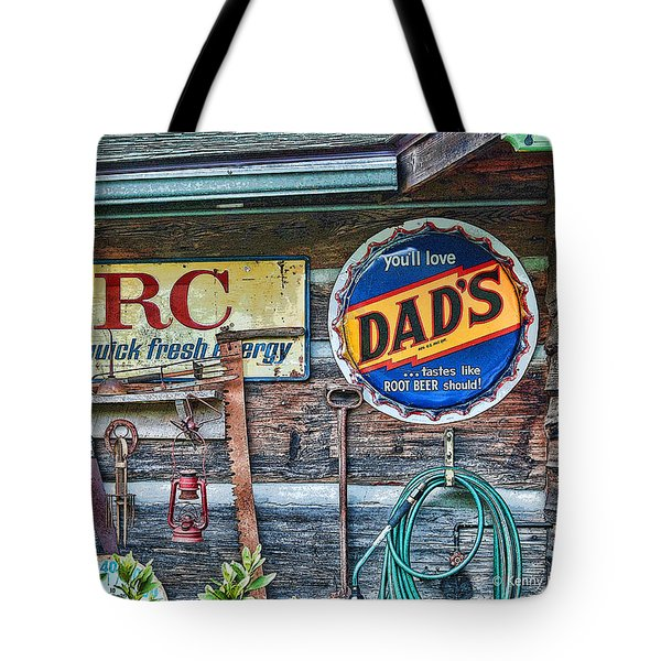 Tote Bag featuring the photograph Dad's by Kenny Francis