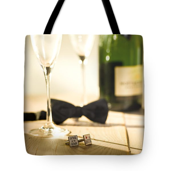 Dads Proud Day Tote Bag by Trevor Chriss