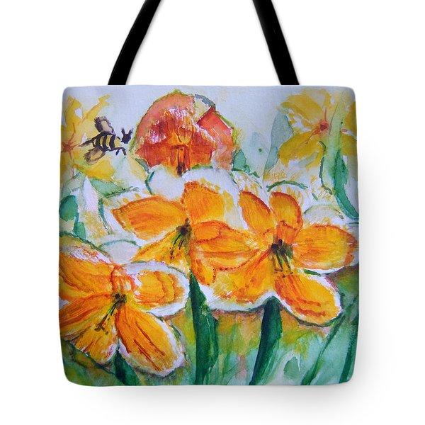 Daffies Tote Bag