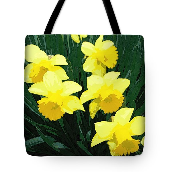 Daffodil Song Tote Bag