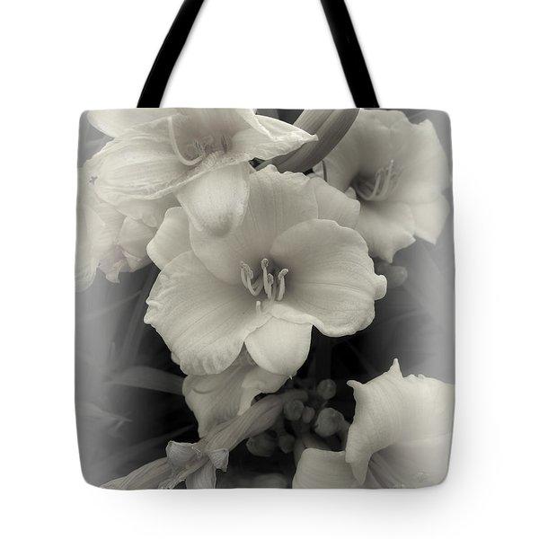 Daffodils Emerge Tote Bag by Daniel Hagerman