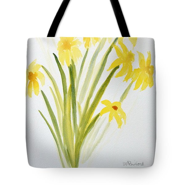 Daffodils For Mothers Day Tote Bag by Wade Binford