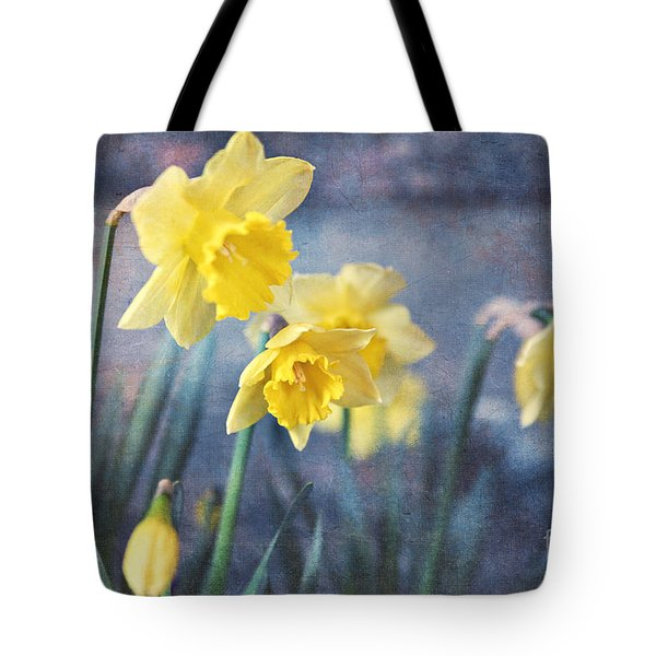 Tote Bag featuring the photograph Daffodils by Sylvia Cook