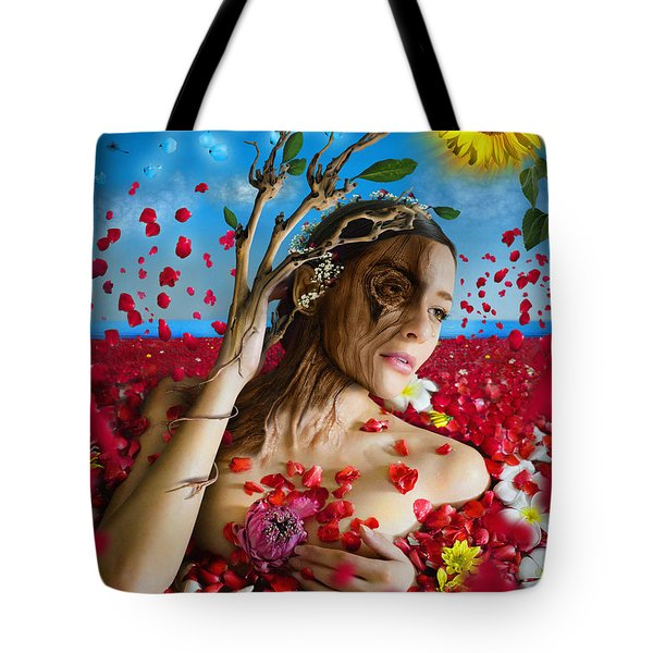 Dafne   Hit In The Physical But Hurt The Soul Tote Bag