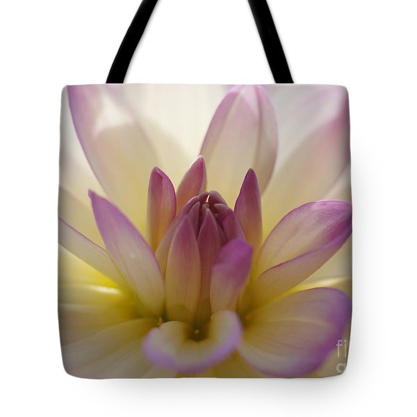 Tote Bag featuring the photograph Dahlia 1 by Rudi Prott