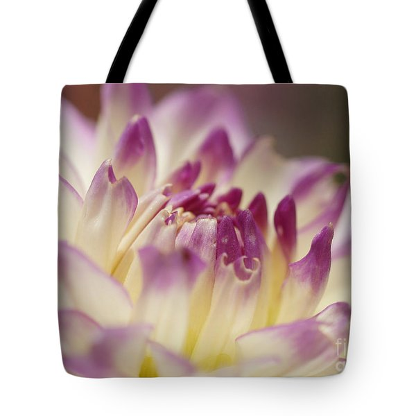 Tote Bag featuring the photograph Dahlia 2 by Rudi Prott