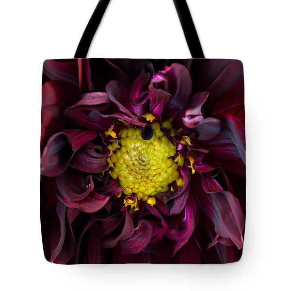 Dahlia - A Study In Crimson Tote Bag