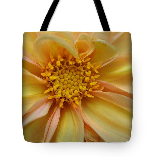 Tote Bag featuring the photograph Dahlia  by Elaine Manley