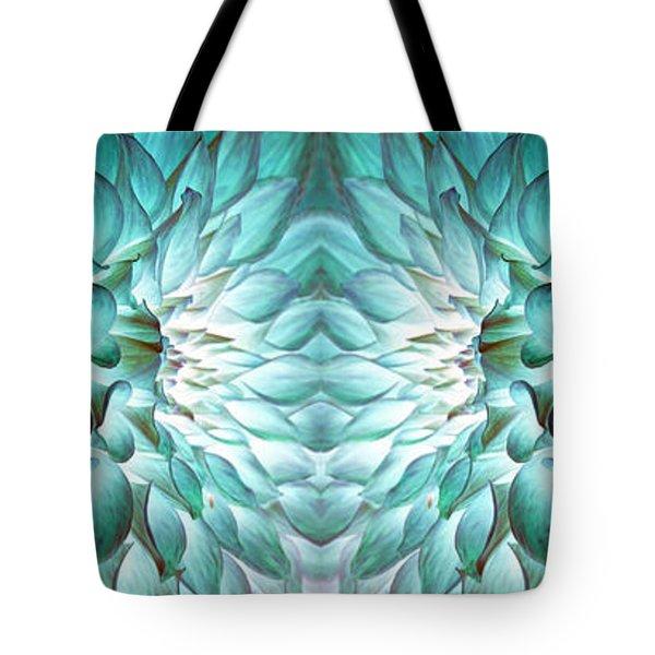 Dahlia Flower Art Tote Bag by Sumit Mehndiratta
