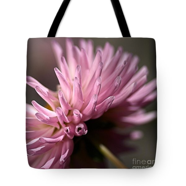 Tote Bag featuring the photograph Dahlia by Joy Watson