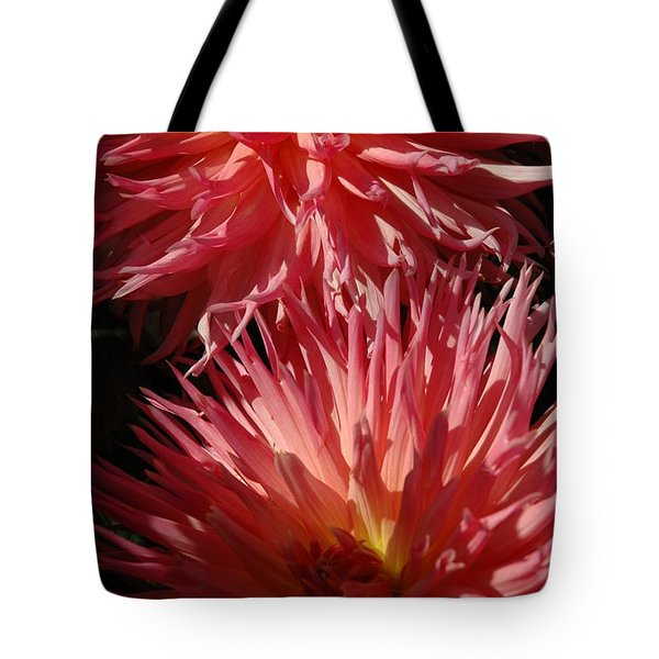 Dahlia Vi Tote Bag by Christiane Hellner-OBrien