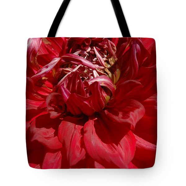 Tote Bag featuring the photograph Dahlia Viiii by Christiane Hellner-OBrien
