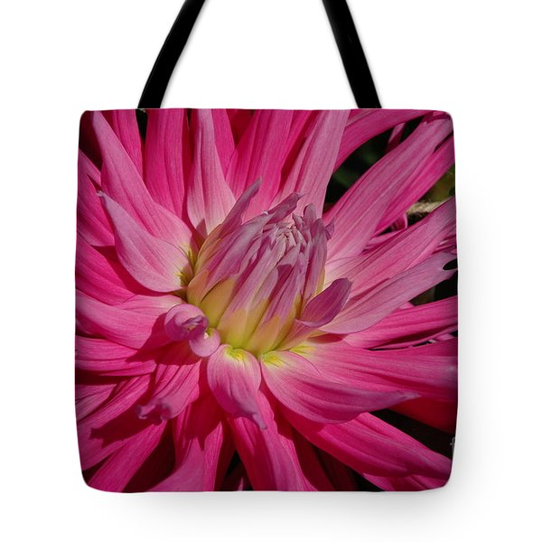 Tote Bag featuring the photograph Dahlia X by Christiane Hellner-OBrien