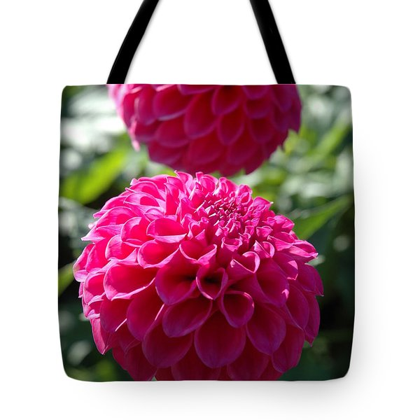 Tote Bag featuring the photograph Dahlia Xi by Christiane Hellner-OBrien