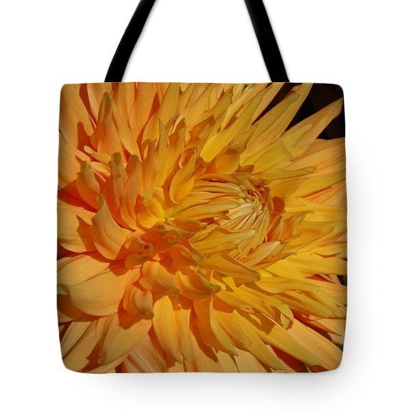 Tote Bag featuring the photograph Dahlia Xiii by Christiane Hellner-OBrien