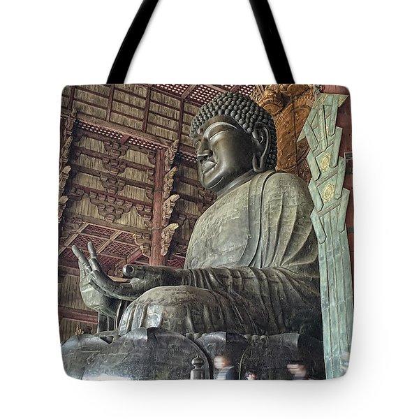 Daibutsu Buddha Of Todai-ji Temple Tote Bag