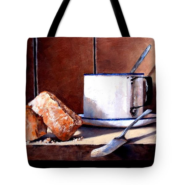 Daily Bread Ver 2 Tote Bag