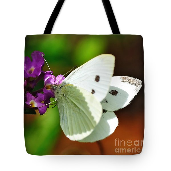 Dainty Butterfly Tote Bag